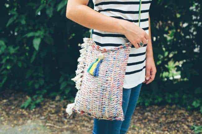 DIY Cross Body Bag  11 DIY Bags for All Your Needs