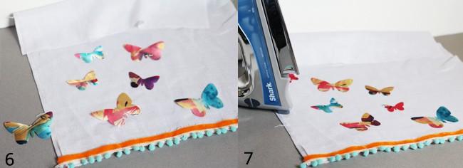 How to make a tea towel | Hello Glow