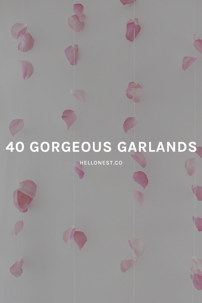 40 Gorgeous Garlands for Valentine's Day - HelloNest.co
