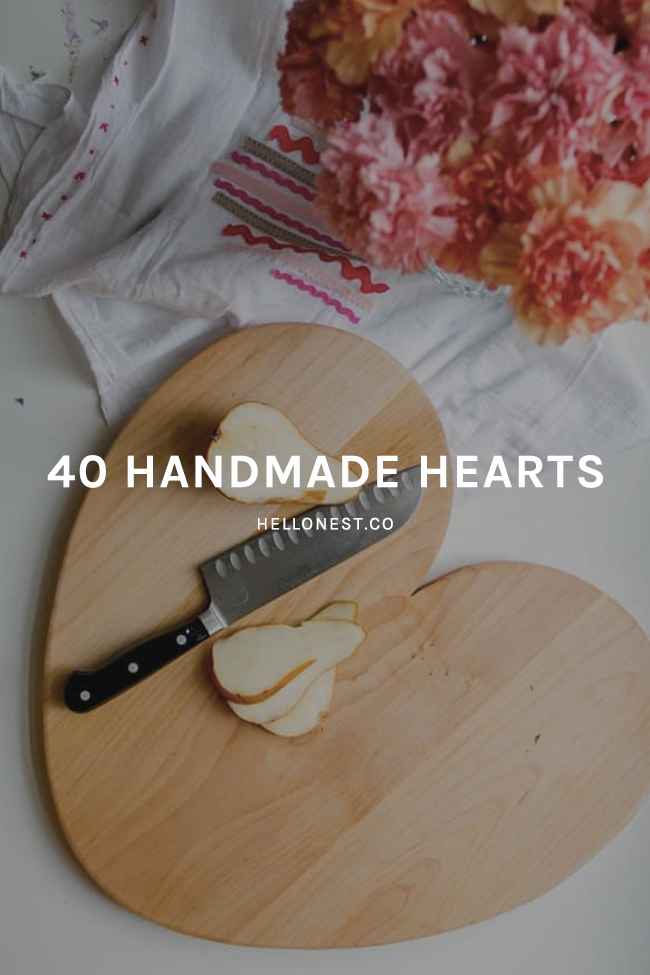 40 Handmade Hearts for Valentine's Day - HelloNest.co