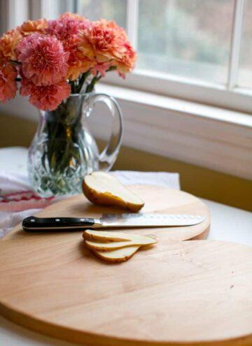 DIY Heart Cutting Board - Hello Nest