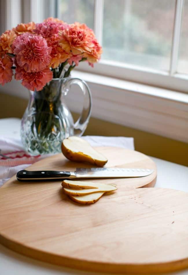 DIY Heart Cutting Board | Hello Glow