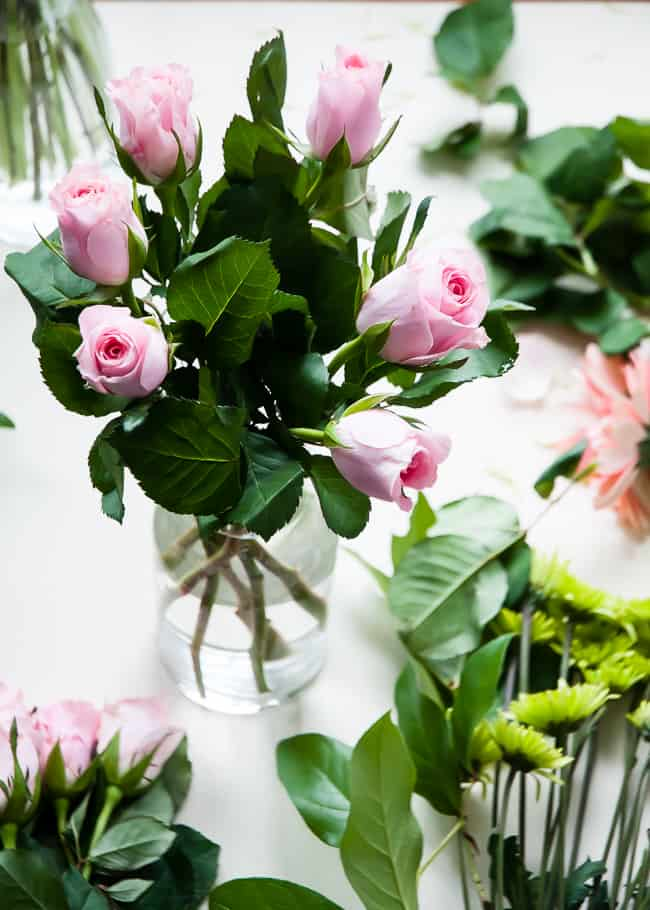 Pink Roses Bouquet | Hello Glow