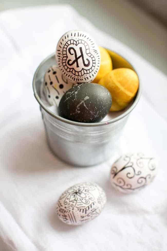 Hibiscus-Dyed Eggs   Hello Glow
