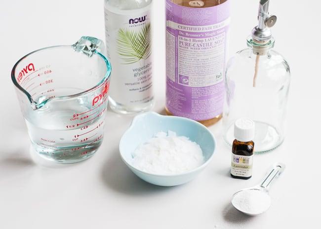 Lavender Homemade Dish Soap | HelloGlow.co
