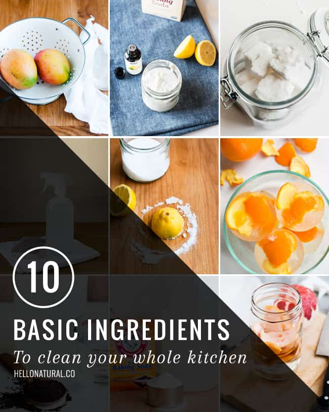 10 Ingredients to Clean Your Whole Kitchen   HelloGlow.co