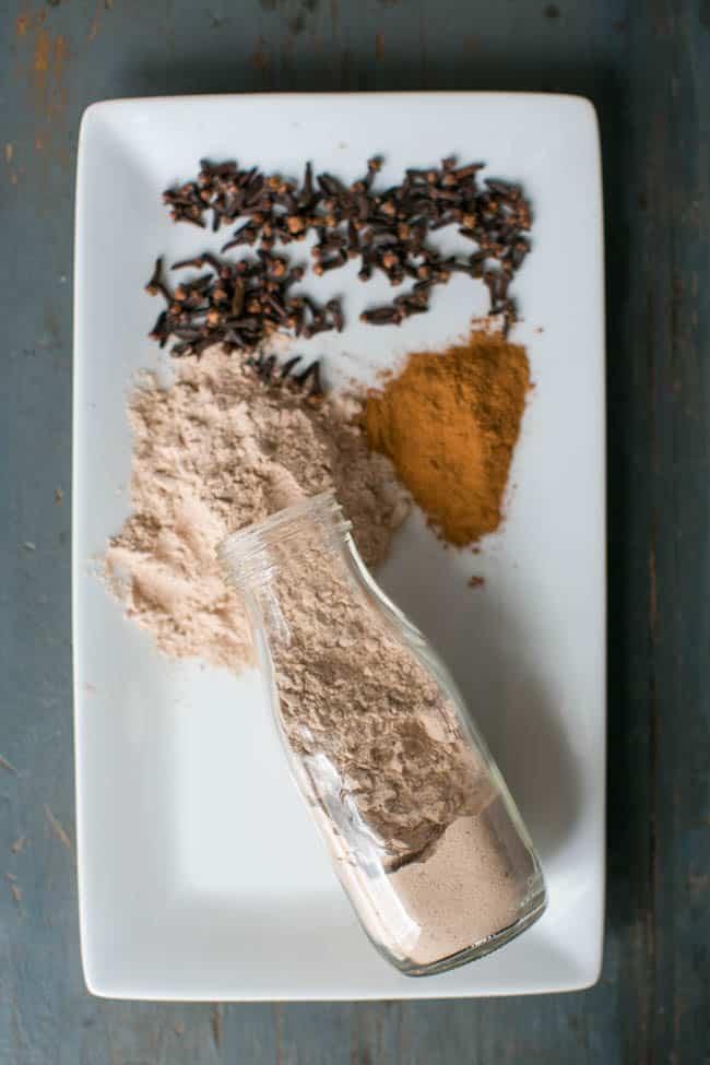 Cinnamon Clove Baking Soda Scrub
