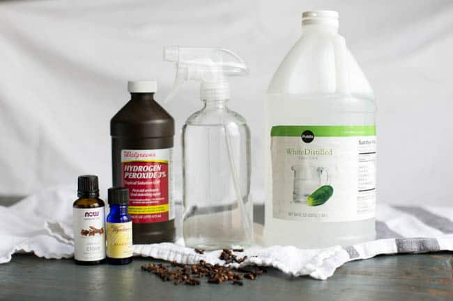 DIY All-Purpose Cleaner with Vinegar and Hydrogen Peroxide