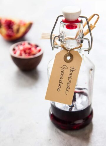 How to make homemade grenadine