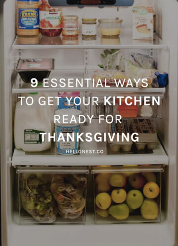 9 Essential Ways To Get Your Kitchen Ready for Thanksgiving - HelloNest.co