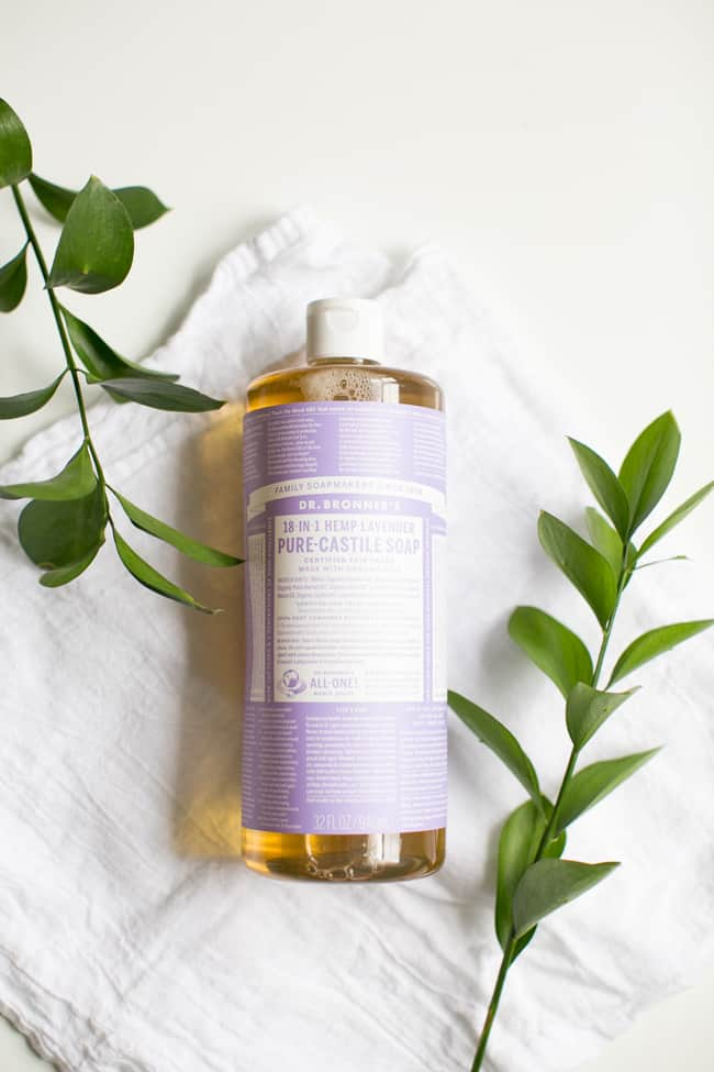 Castile Soap   10 Must-Have Ingredients for Homemade Cleaners