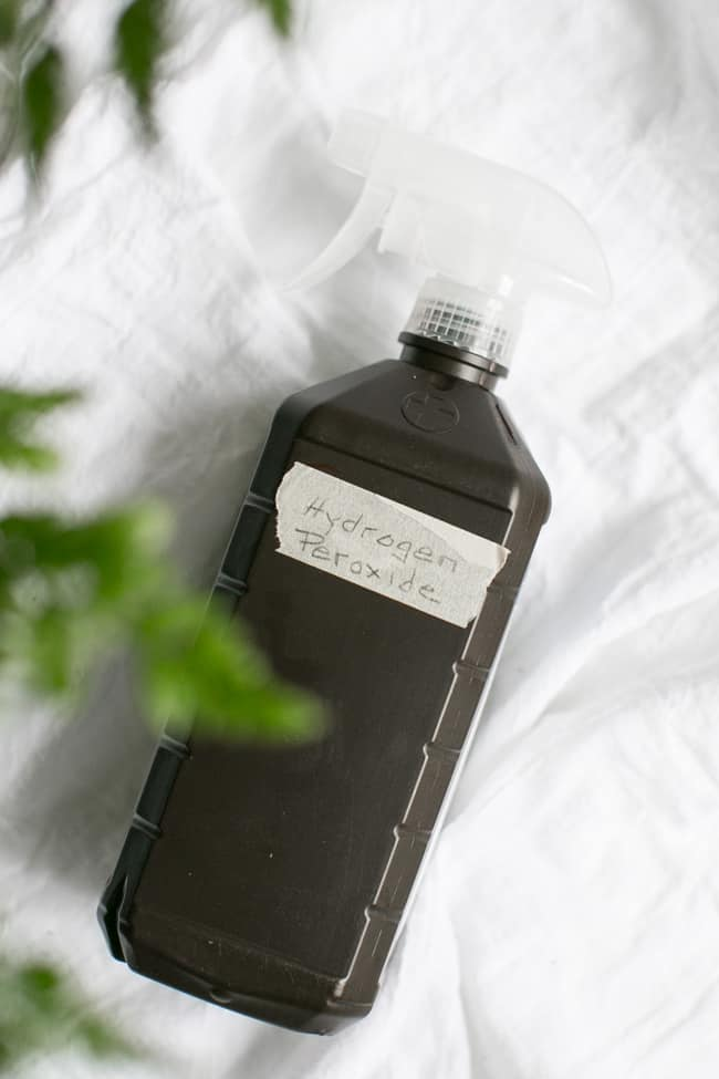 Hydrogen Peroxide   10 Must-Have Ingredients for Homemade Cleaners