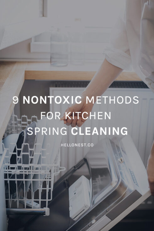9 Nontoxic Methods for Kitchen Spring Cleaning - Hello Nest