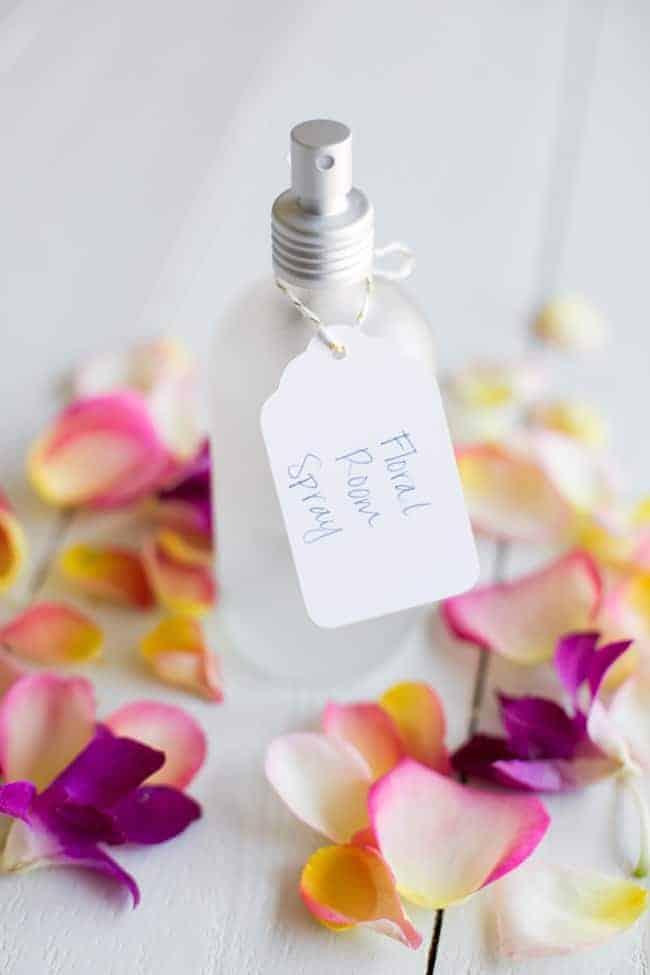 Floral Room Spray   4 Essential Oil Air Fresheners