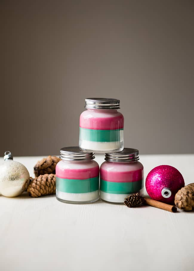 DIY Layered Scent Candle