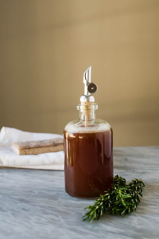 Herb-Infused Homemade Dish Soap | HelloGlow.co