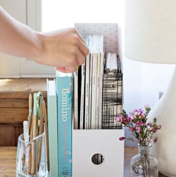 6 Tips For Creating an Organized + Efficient Home Office Space
