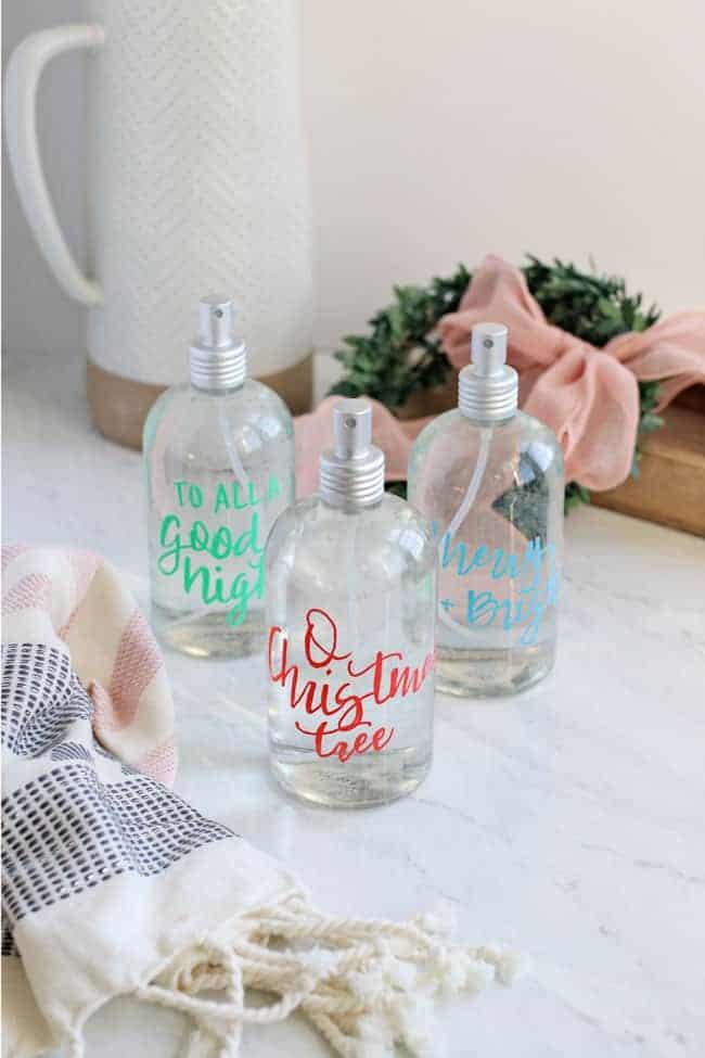 Essential Oil Holiday Room Spray Trio