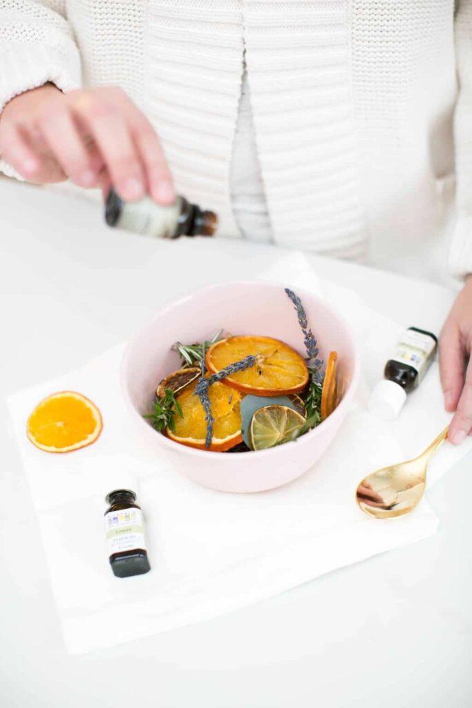 Uplifting Rosemary Citrus Pot Simmer