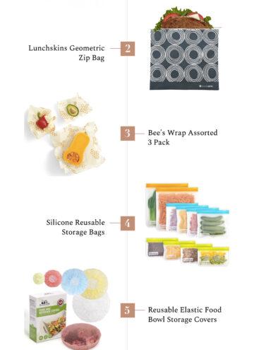 6 Green Alternatives to Plastic Wrap & Baggies - Hello Nest