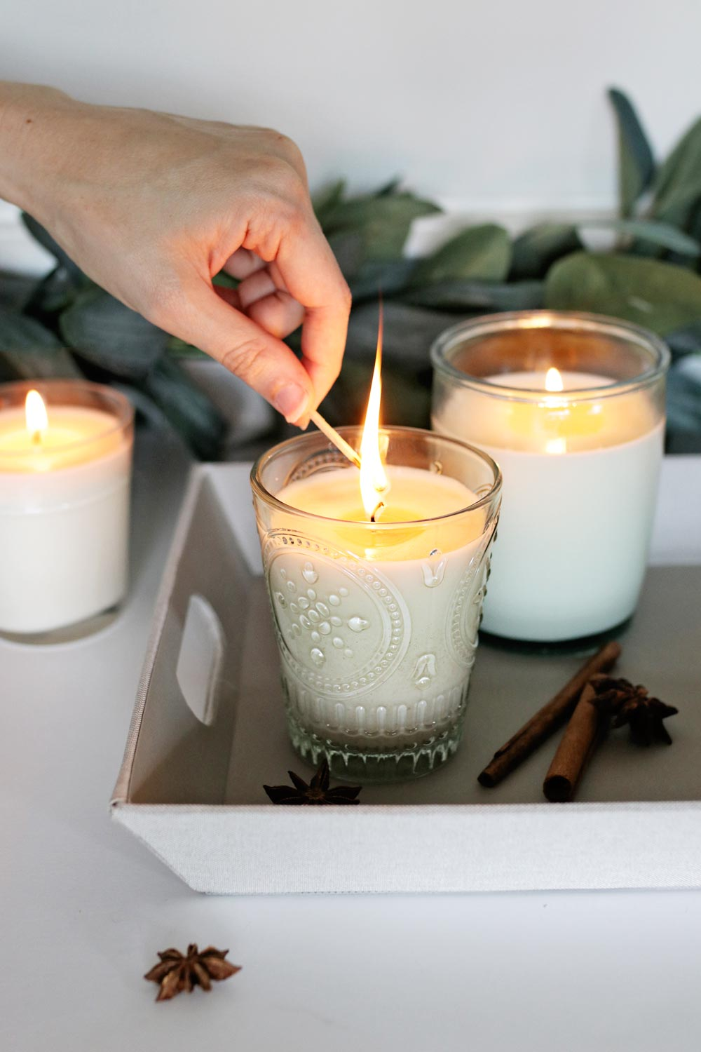 Fall Candles 3 Ways from Hello Nest | 10 DIY Fall Candles
