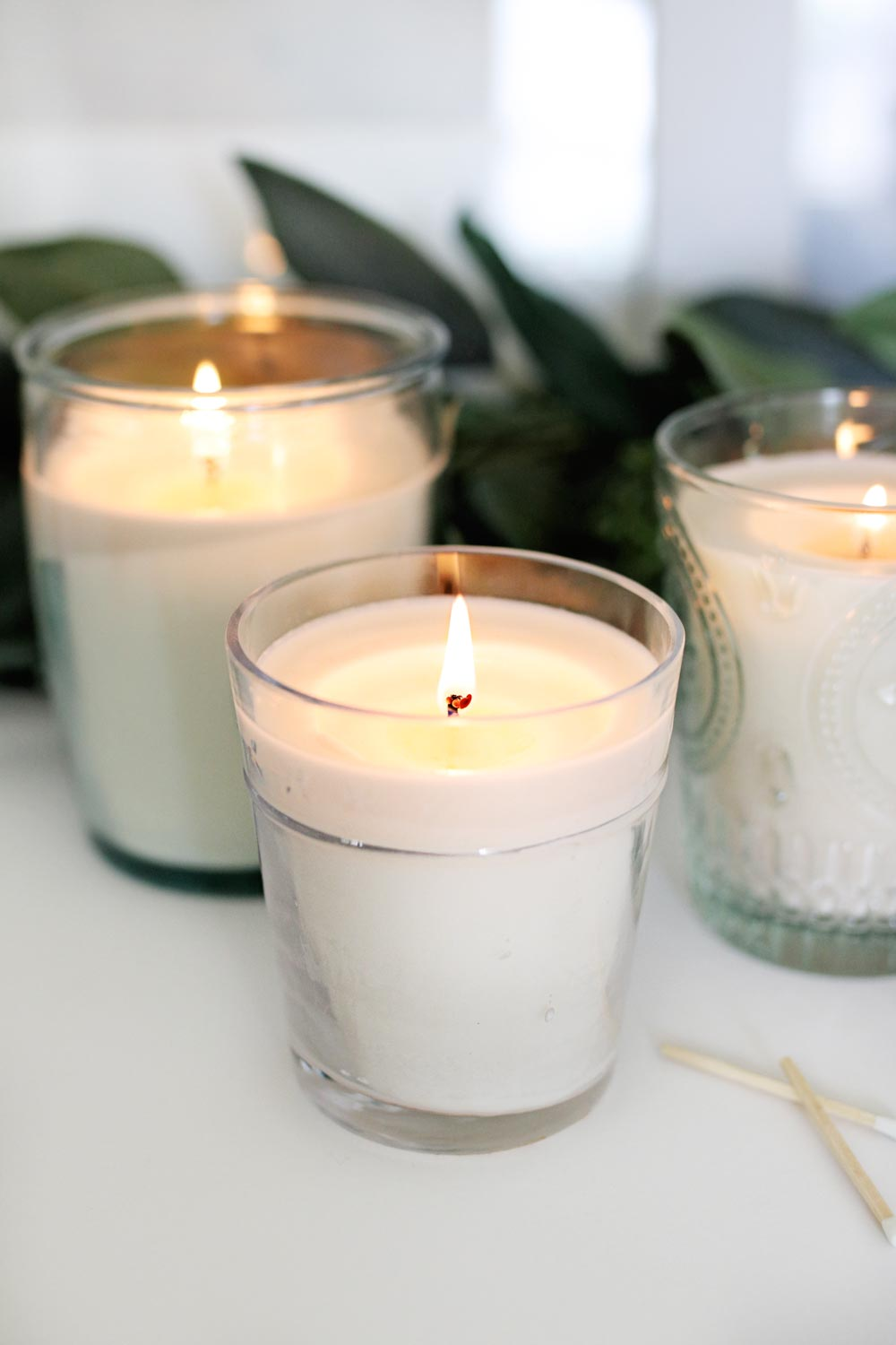 DIY Candles with Soy Wax and Essential Oils