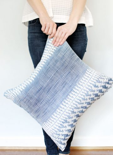 How to Sew a Simple Envelope Pillow