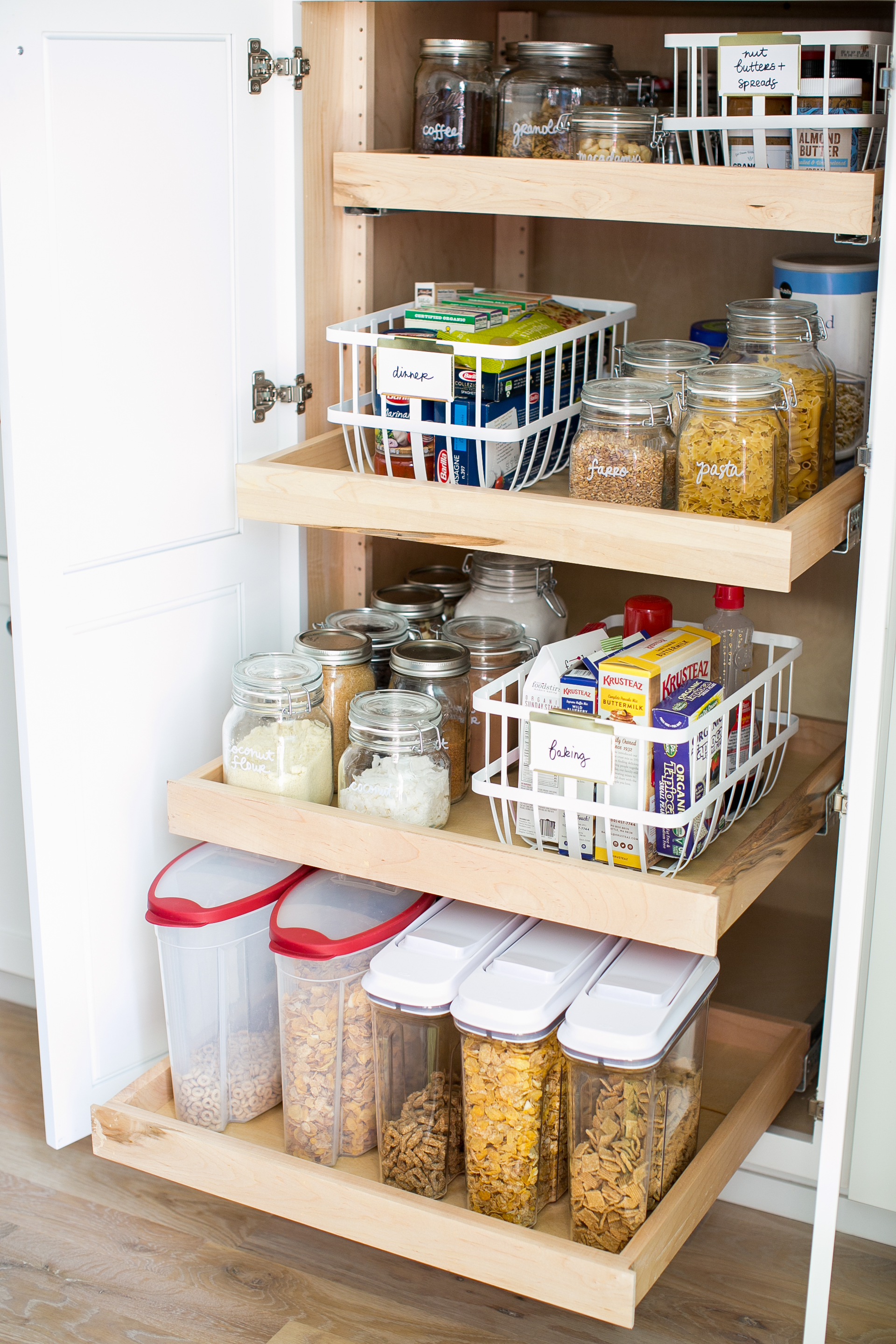Pantry Reorganization