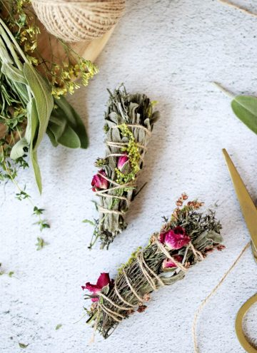 Make Your Own Smudge Sticks To Banish Bad Energy