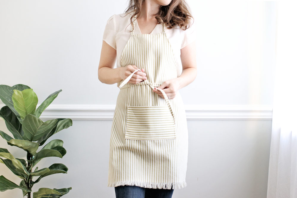 How To Sew An Apron Tutorial
