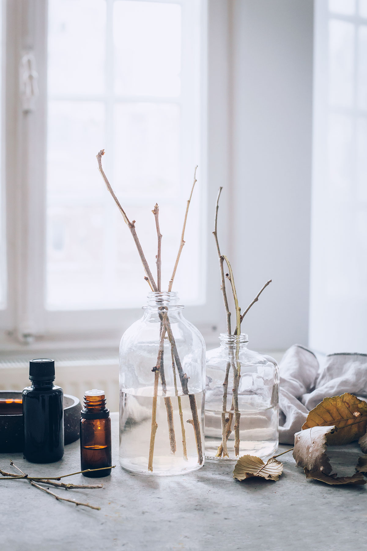 Dreamy Bedside DIY Reed Diffuser