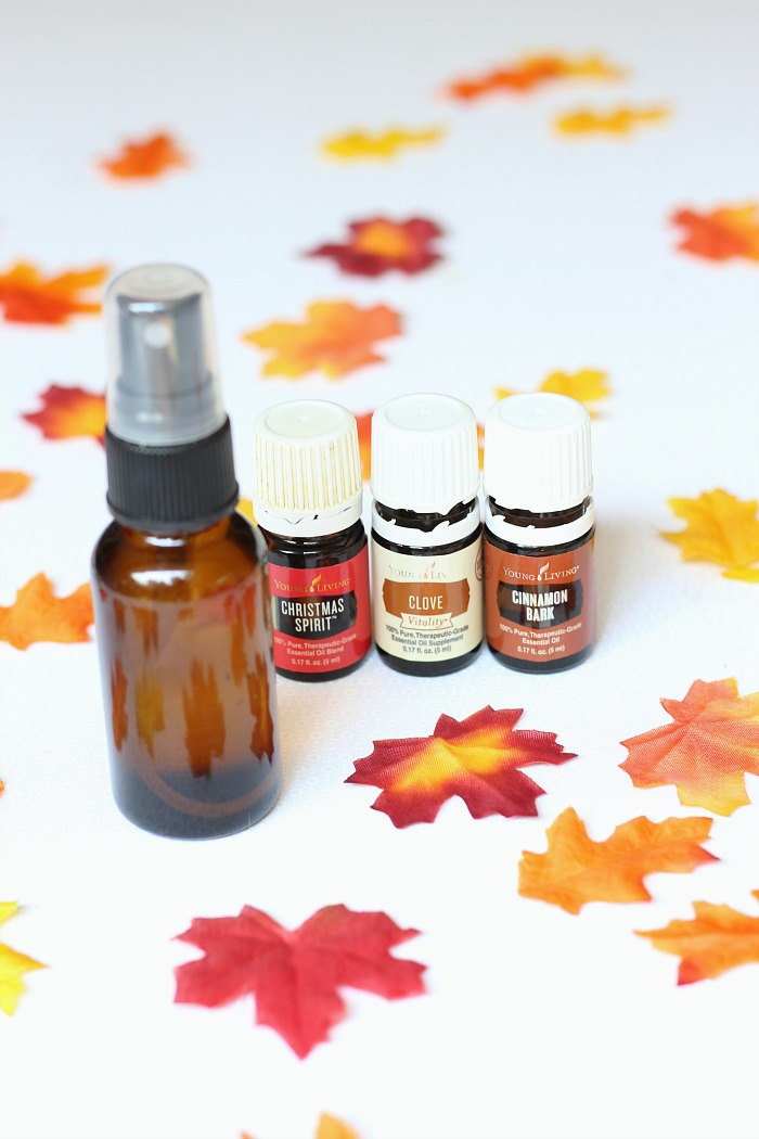 DIY Fall Scented Room Spray from An Uncomplicated Life Blog | 7 DIY Room Sprays for Fall