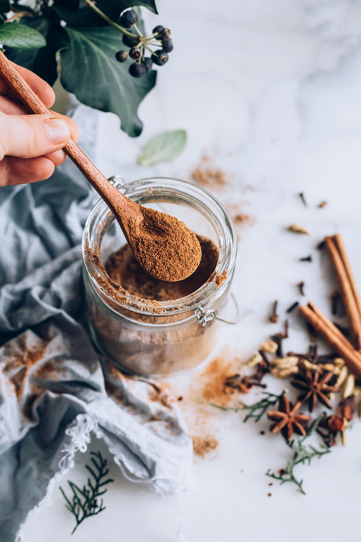 Homemade Chai Mix plus a Super Easy Chai Spiced Vegan Cookies Recipe