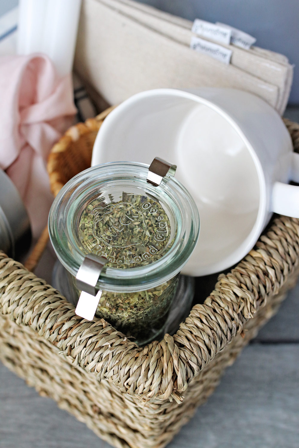 Tea for a Zero Waste Gift Basket