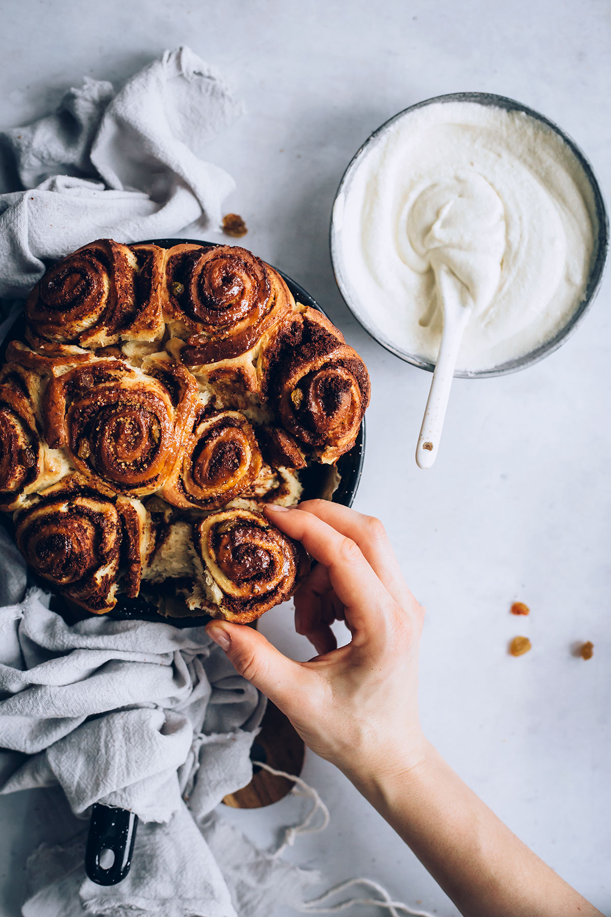 Homemade Vegan Cinnamon Rolls Recipe