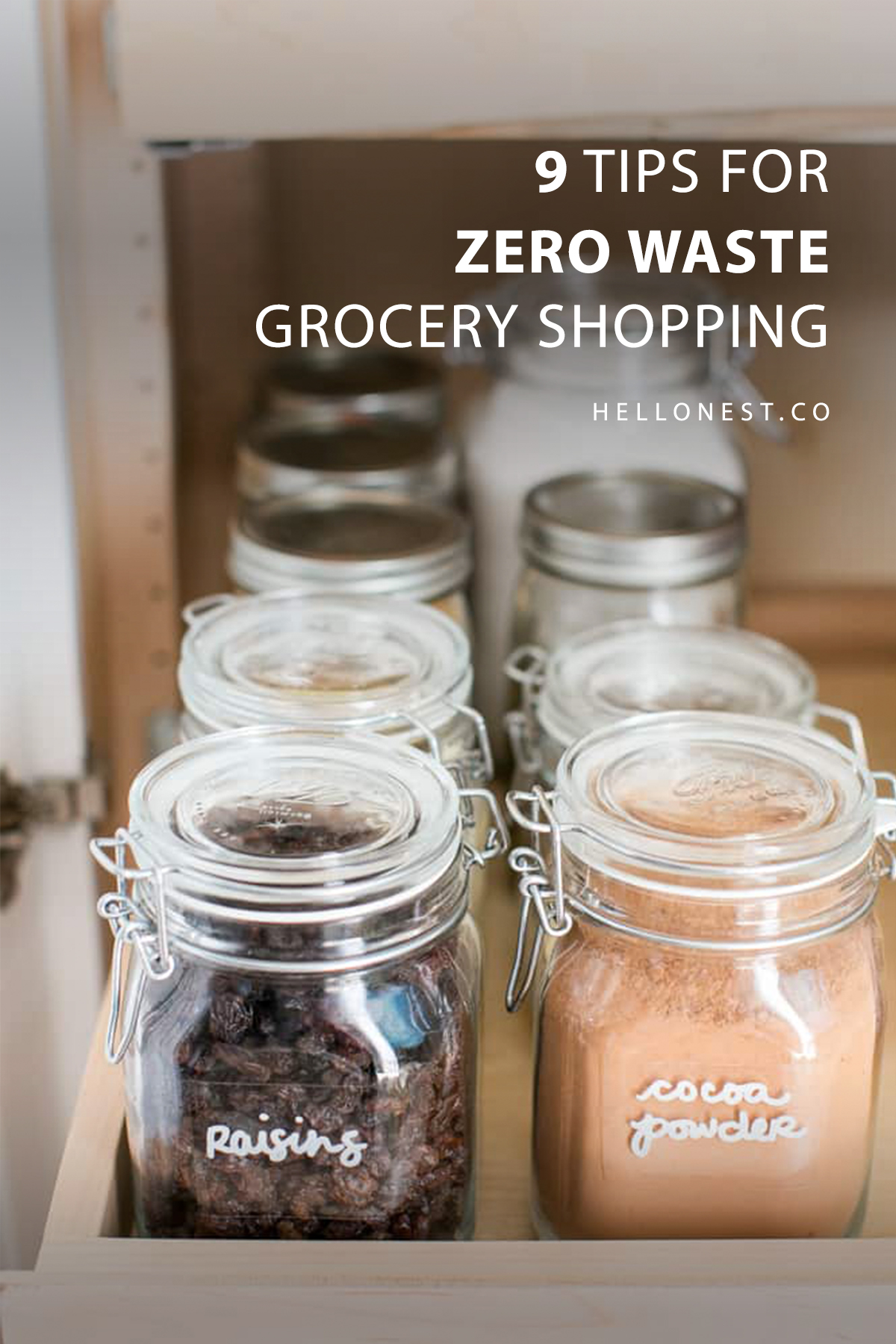 9 Tips for Zero Waste Grocery Shopping