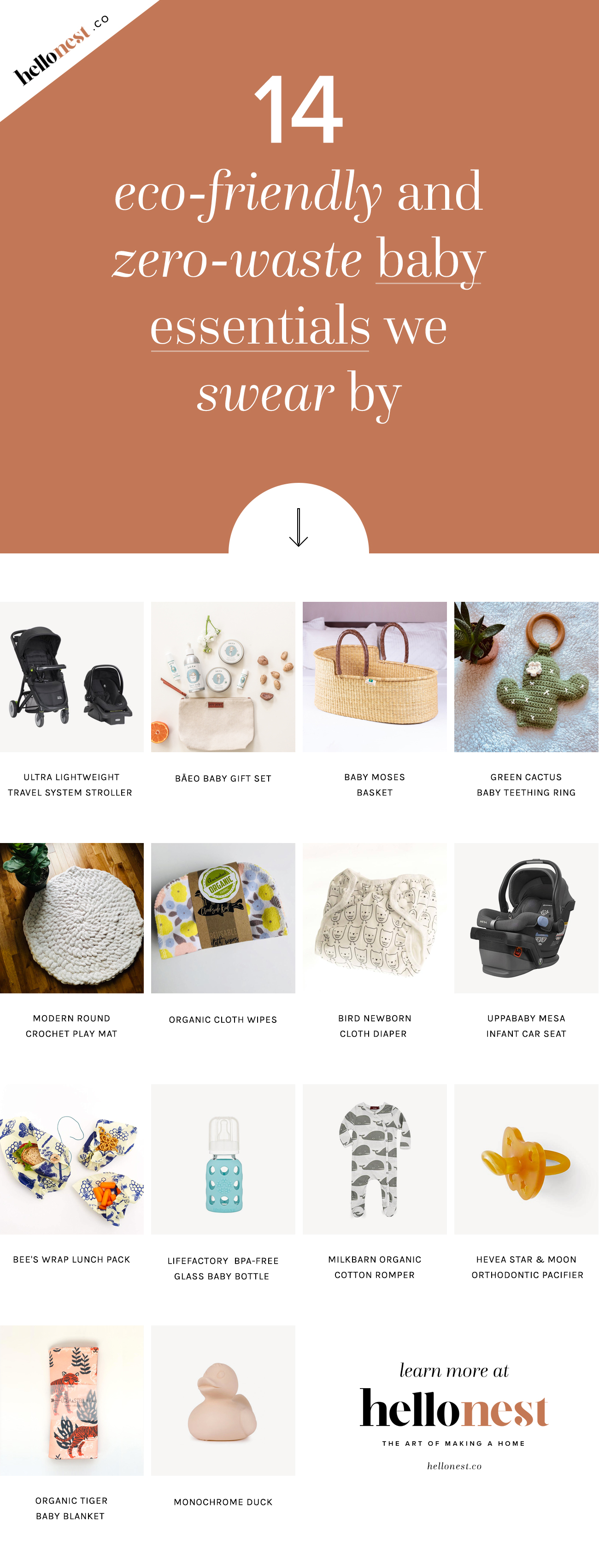 Our Favorite Sustainable + Zero Waste Baby Essentials