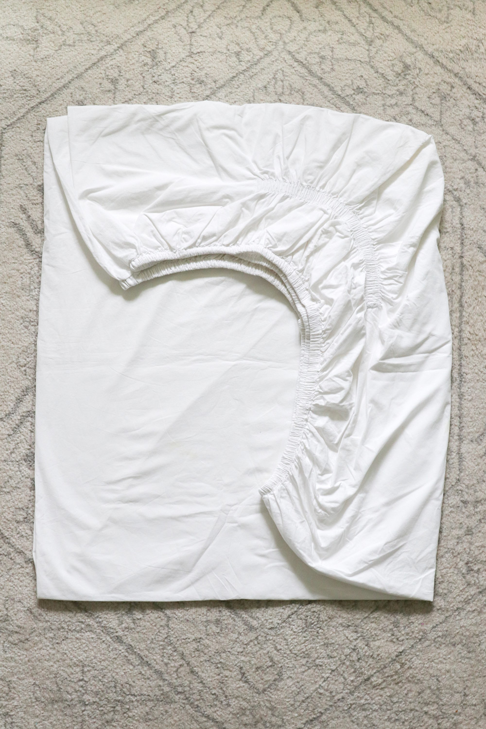 Fold a Fitted Sheet Instructions