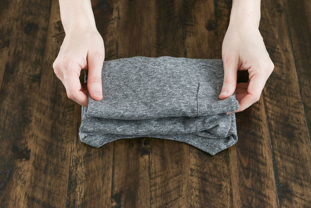How To Fold a T-Shirt Like a Pro