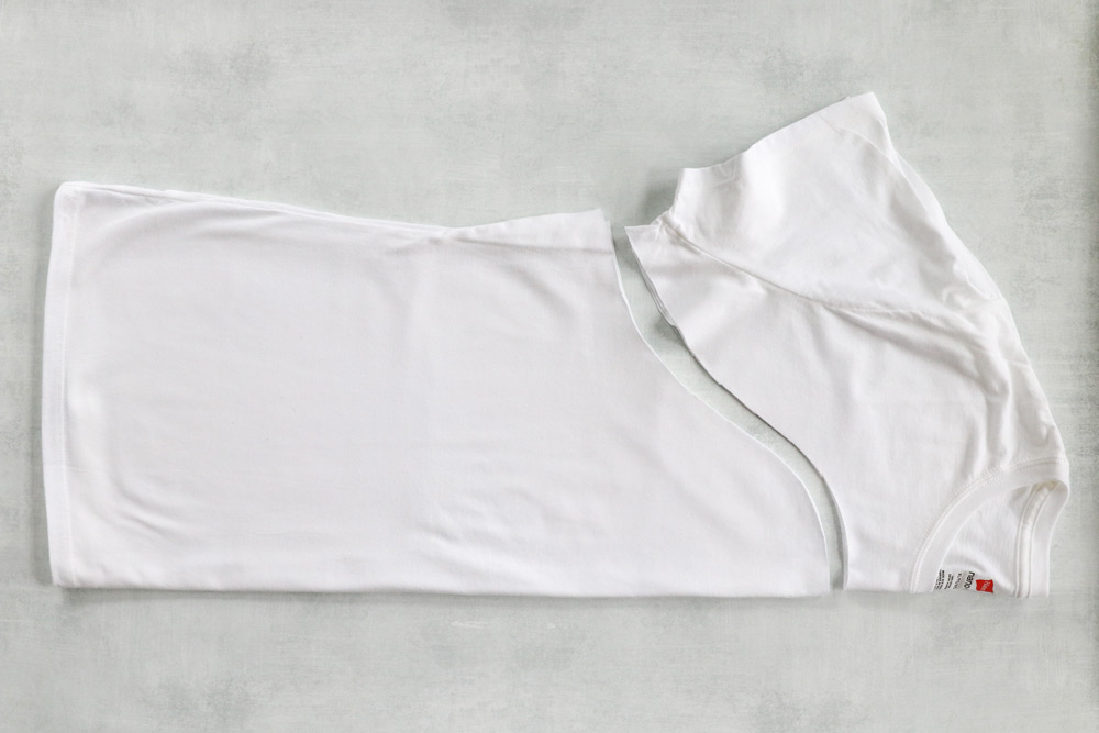 How to make a t-shirt bag for produce