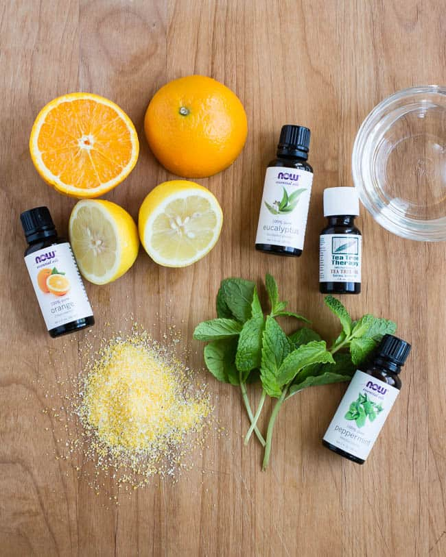 Essential oils for pest control