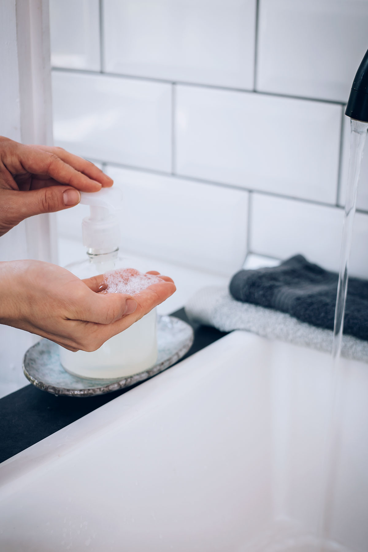 How to Make Your Own Foaming Hand Soap (and Method Giveaway