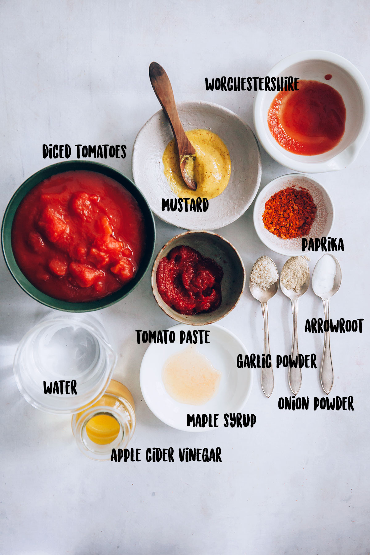 Homemade Ketchup Ingredients