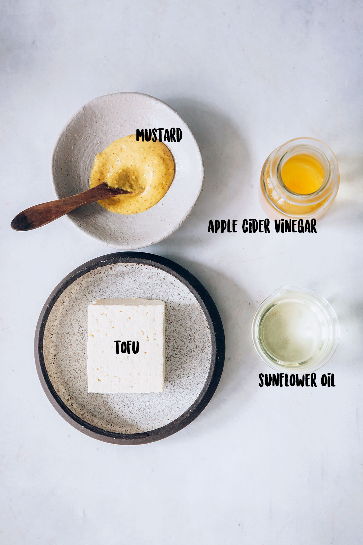 Homemade Mayo Ingredients