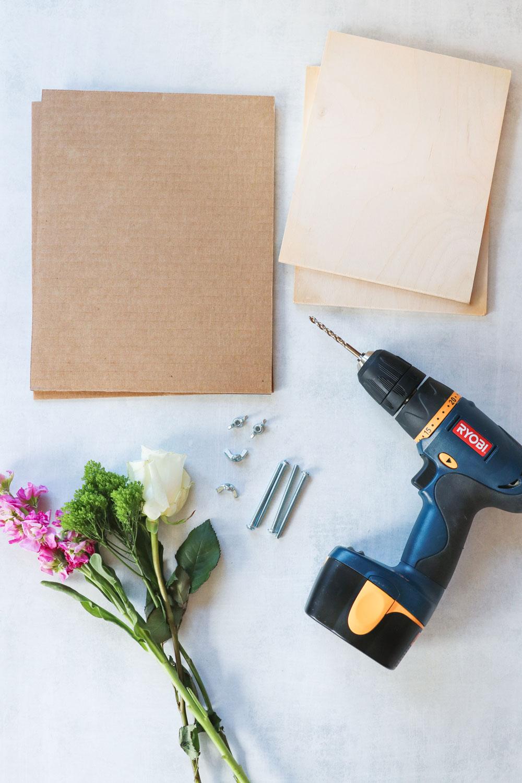 How To Press Flowers + Make a DIY Flower Press