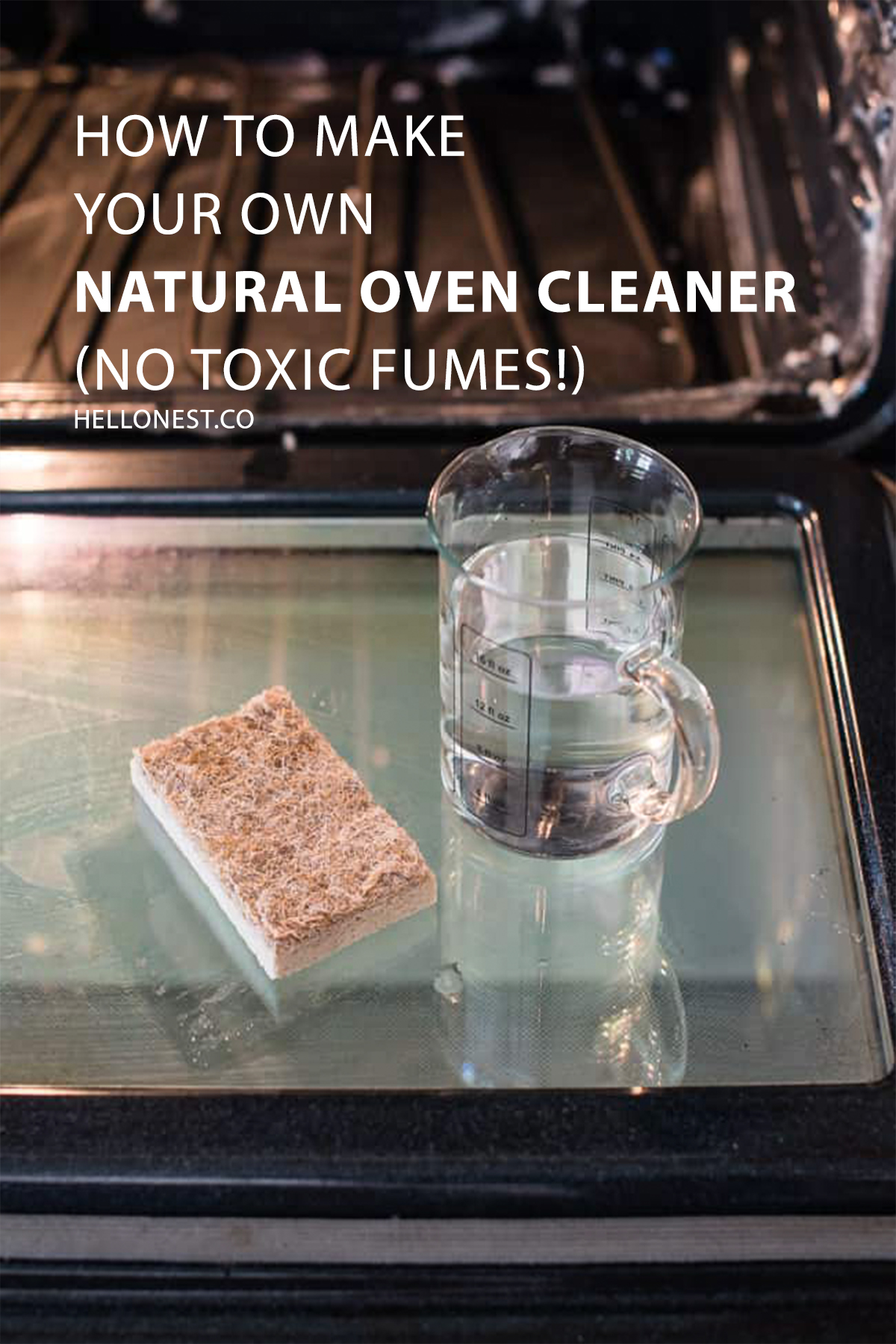 How To Make Your Own Natural Oven Cleaner (No Toxic Fumes!)