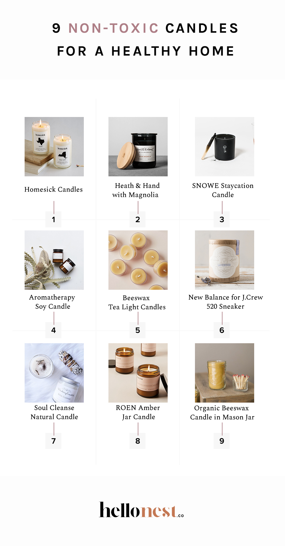 9 Non-Toxic Candles for a Healthy Home