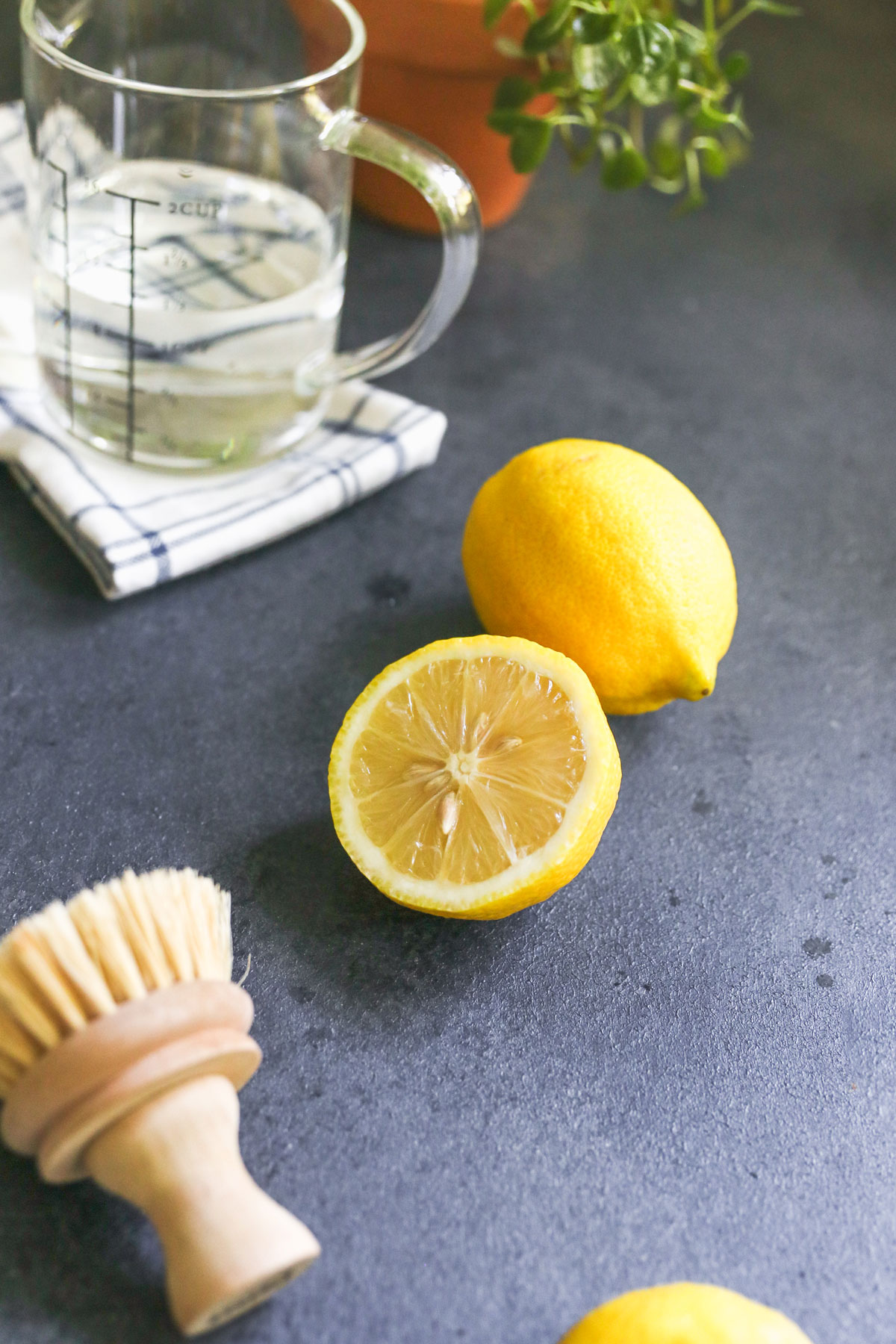 lemon for microwave cleaning