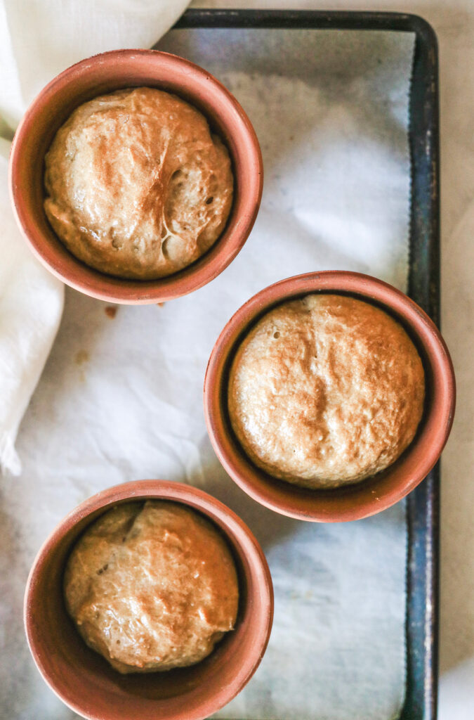 How to make flowerpot bread