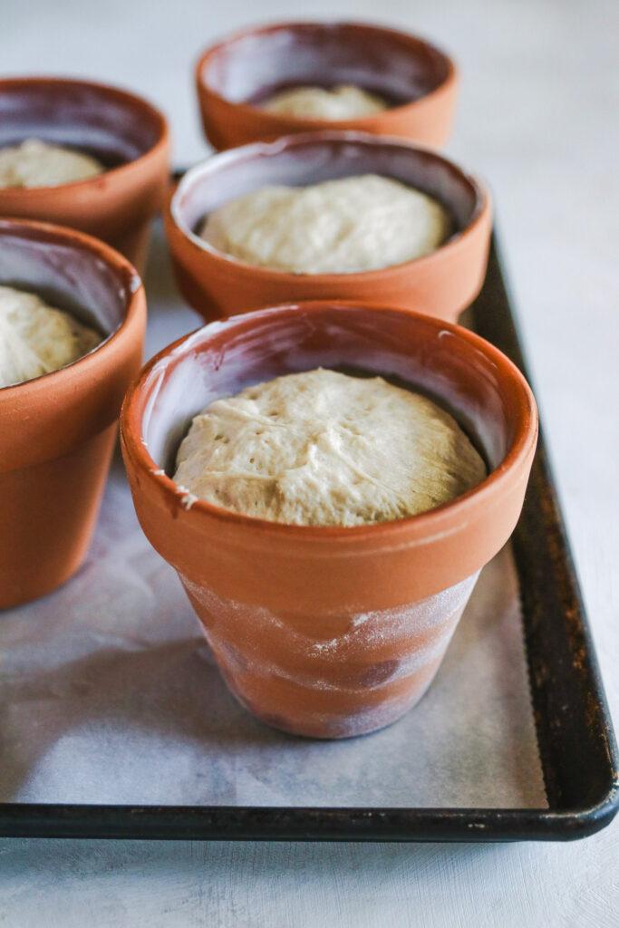Flowerpot Bread